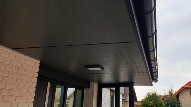 Dacharbeiten Untersichten neu erstellt